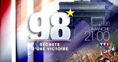 """Ce soir à la télé : """"98 - Secrets d'une victoire"""", retour sur la victoire des Bleus en Coupe du Monde 1998"""
