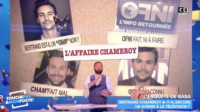 Finalement, Bertrand Chameroy ne travaillera pas (pour le moment) avec Cyril Hanouna