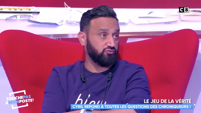 "TPMP, Cyril Hanouna : ""je me suis posé la question d'arrêter la télé"" (VIDEO)"