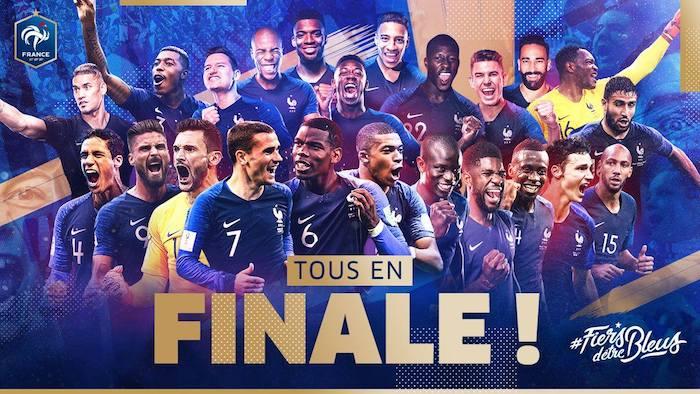 Coupe du Monde 2018 : la France en finale après sa victoire contre la Belgique !