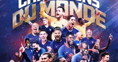 La France remporte la Coupe du Monde 2018