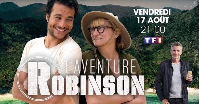 L'aventure Robinson avec Amir et Christine Bravo le 17 août