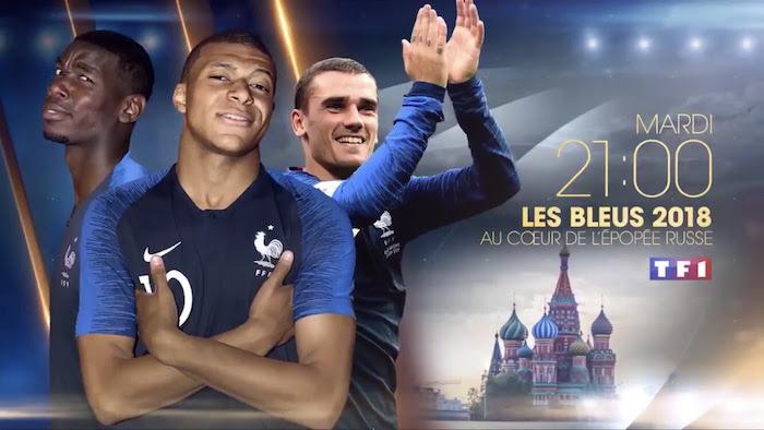 Ce soir à la télé : Les Bleus 2018, au coeur de l'épopée russe (VIDEO)