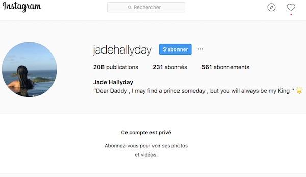 Jade Hallyday, la fille de Johnny rend un bel hommage à son père