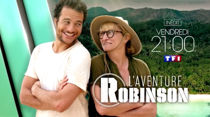 """Ce soir à la télé : """"L'aventure Robinson"""" avec Amir et Christine Bravo (VIDEO)"""