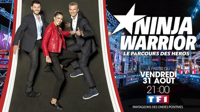 Ce soir à la télé : TF1 lance la saison 3 de Ninja Warrior
