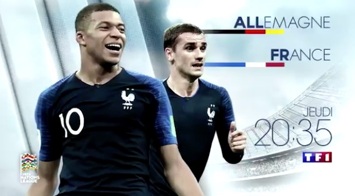Ce soir à la télé : Allemagne-France, football Ligue des Nations (VIDEO)