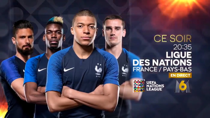 Ligue des nations : France/Pays-Bas