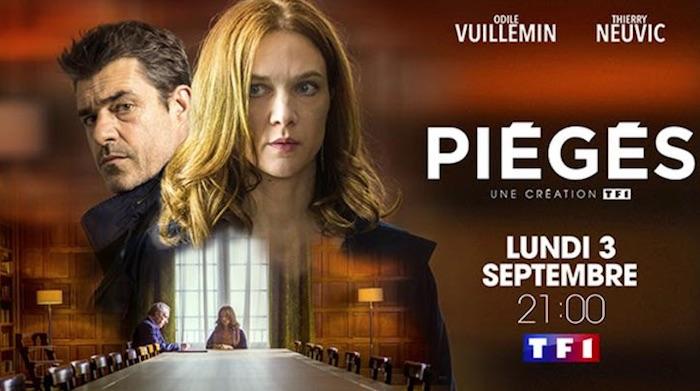 """Ce soir à la télé : """"Piégés"""" avec Odile Vuillemin et Thierry Neuvic (VIDEO)"""