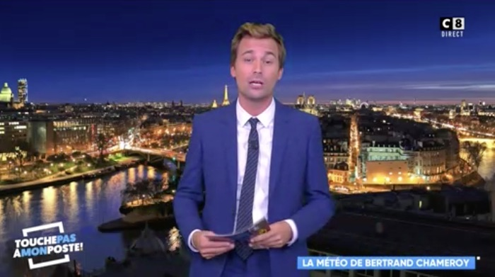 TPMP : regardez le retour de Bertrand Chameroy (VIDEO)