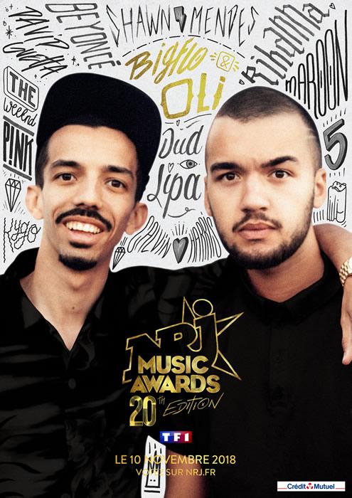 NRJ Music Awards 2018 : les nommés