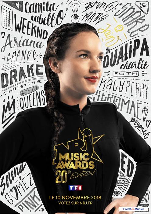 NRJ Music Awards 2018 : les nommées