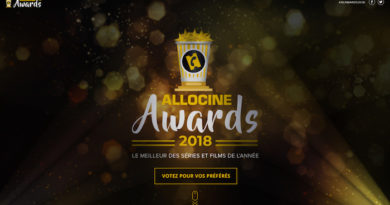 AlloCiné lance les AlloCiné Awards 2018