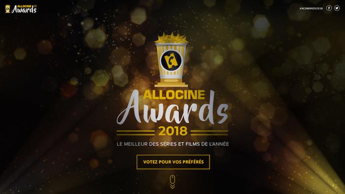 AlloCiné Awards 2018