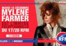 Mylène Farmer invitée exceptionnelle du 17/20 de RFM ce mardi 18 décembre