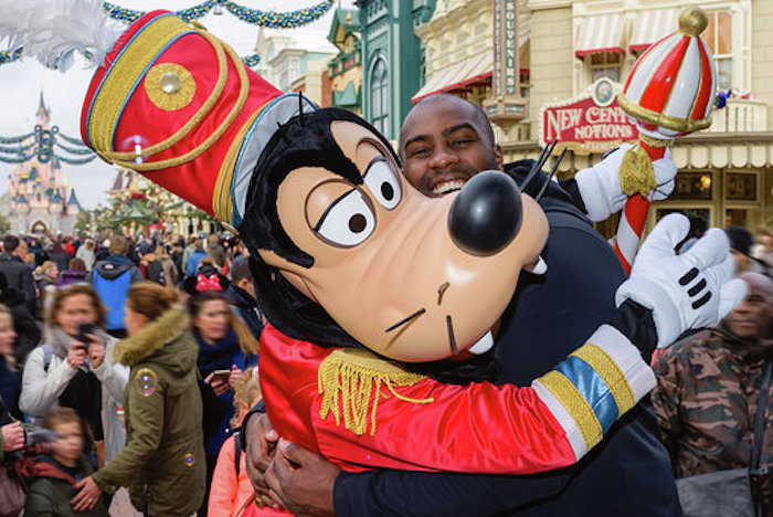 Teddy Riner à Disneyland Paris