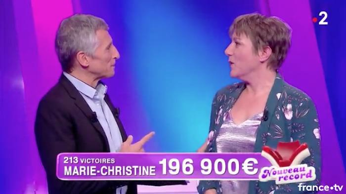 Tout le monde veut prendre sa place (France 2) : Marie-Christine éliminée !