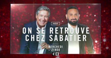 Ce soir à la télé «On se retrouve chez Sabatier» sur C8 avec Cyril Hanouna en invité (vidéo)