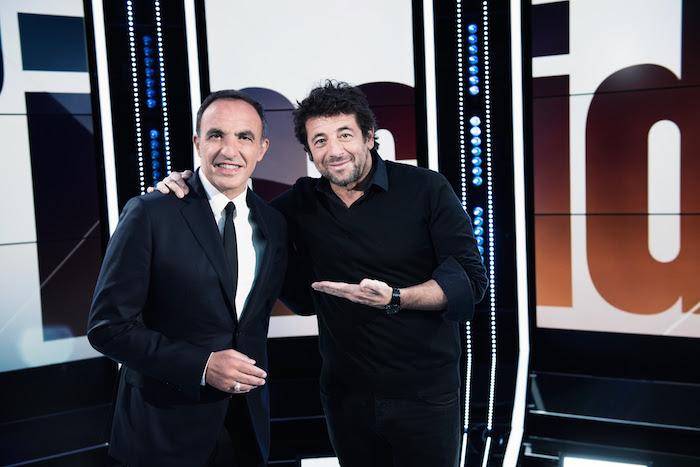 "Patrick Bruel et Nikos Aliagas dans ""50'Inside"""