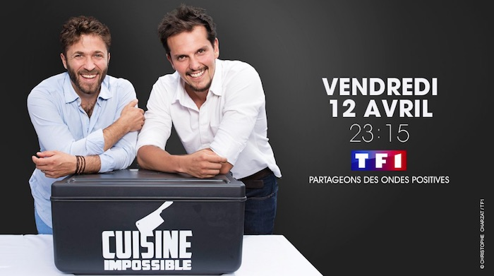 tf1 lance cuisine impossible le vendredi 12 avril. Black Bedroom Furniture Sets. Home Design Ideas
