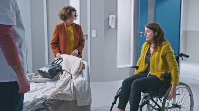 Plus belle la vie en avance : Luna en fauteuil roulant (Vidéo PBLV épisode 3755)