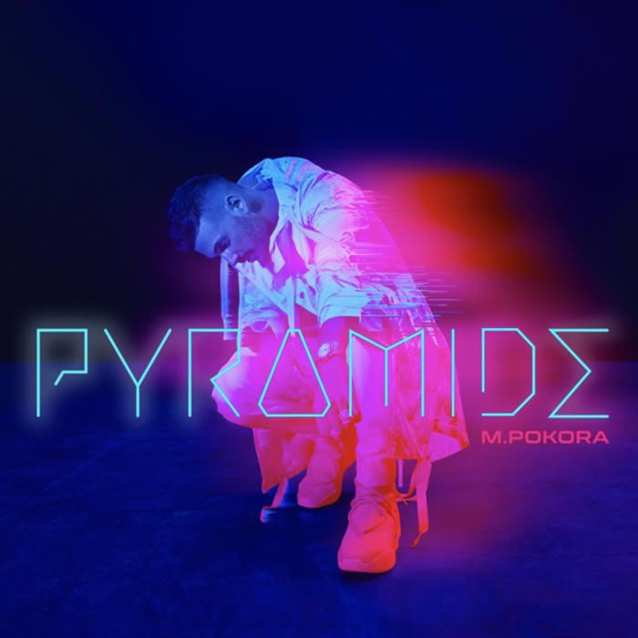 M.Pokora cover de l'album Pyramide
