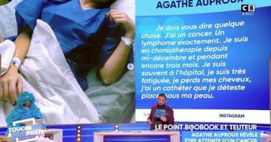 """Cancer d'Agathe Auproux : Cyril Hanouna réagit dans TPMP, """"on la soutient à fond"""" (VIDEO)"""