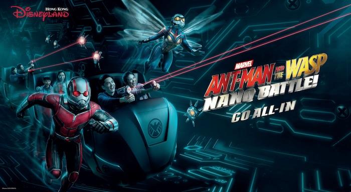 nouvelle attraction Marvel à Hong Kong Disneyland