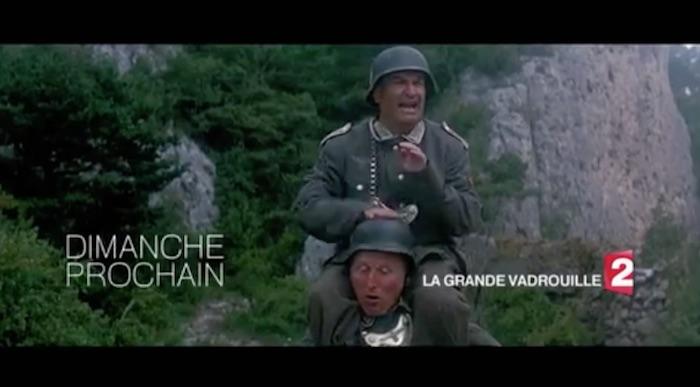 """Ce soir à la télé, France 2 rediffuse """"La grande vadrouille"""" avec Bourvil et Louis de Funès (vidéo)"""