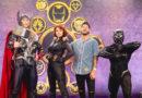 Matt Pokora retrouve les Avengers lors de la Saison des Super Héros Marvel à Disneyland Paris !