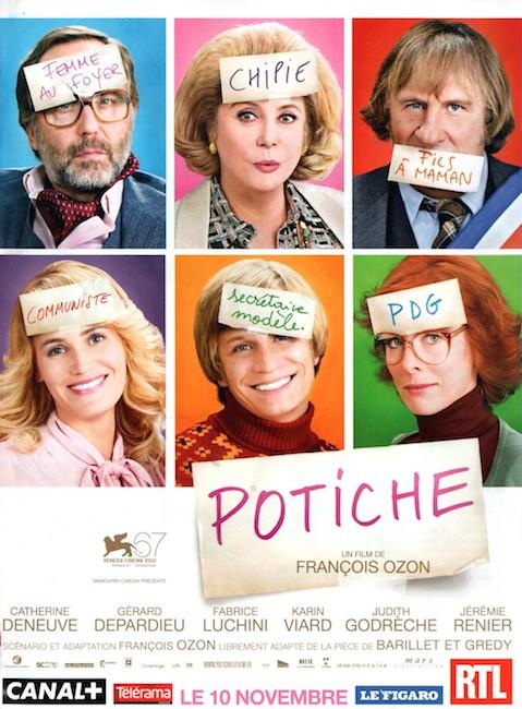 Potiche affiche du film