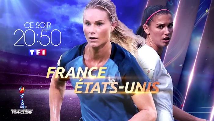 Audiences prime 28 juin : énorme carton pour France / Etats-Unis