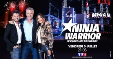 "Audiences TV prime du 5 juillet : Ninja Warrior en tête devant ""The Rookie"""