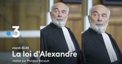 Ce soir à la télé  « La loi d'Alexandre » avec Gérard Jugnot sur France 3 (vidéo)