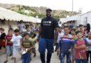 Teddy Riner aux côtés d'UNICEF auprès des enfants syriens réfugiés en Turquie
