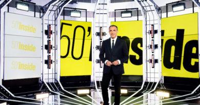 Sommaire de « 50'Inside » du 29 Février 2020 :  Mimie Mathy, Patrick Bruel, Jean-Pierre Pernaut