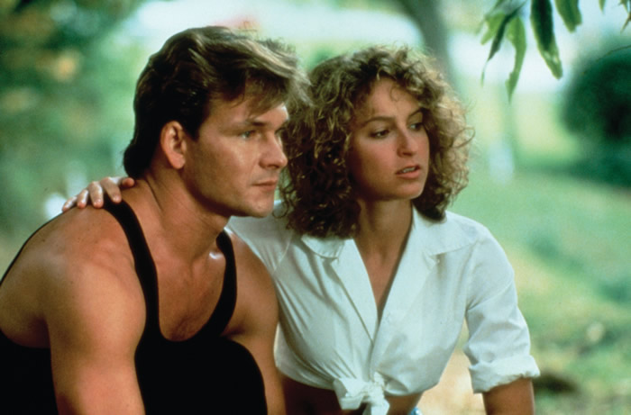 Patrick Swayze dans  « DIRTY DANCING »