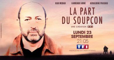 "TF1 diffuse ""La part du soupçon"" avec Kad Merad le 23 septembre"