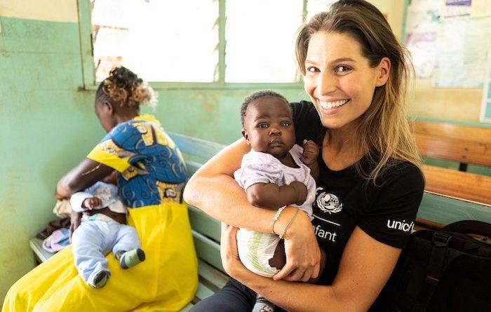 Laury Thilleman nommée ambassadrice d'UNICEF France