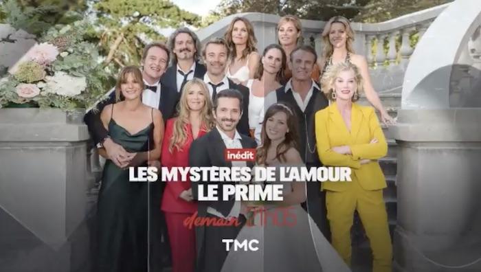 """Ce soir à la télé : le mariage de Christian et Fanny dans """"Les mystères de l'amour"""" (VIDEO)"""