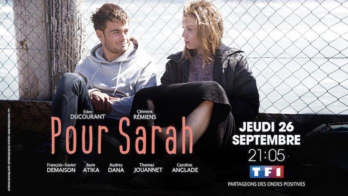 """Retrouvez Clément Remiens dans """"Pour Sarah"""" à partir du 26 septembre"""
