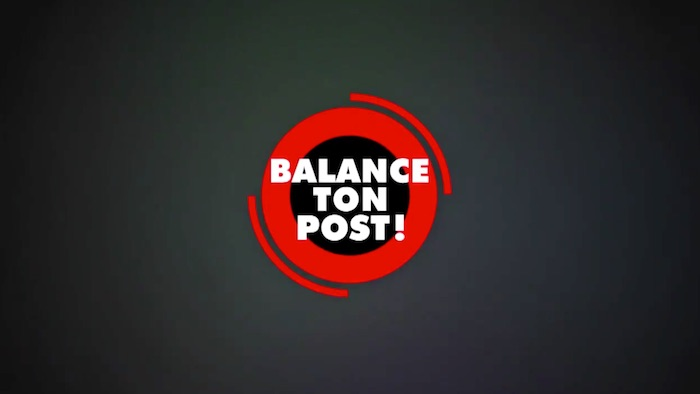 « Balance ton post » du 17 octobre