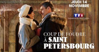 « Coup de foudre à Saint-Pétersbourg » : le 14 novembre sur TF1 avec Thierry Neuvic  et Héléna Noguerra