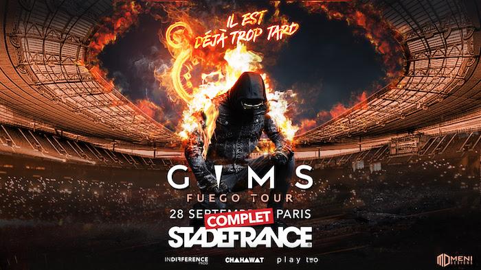 « Gims : destination Stade de France »