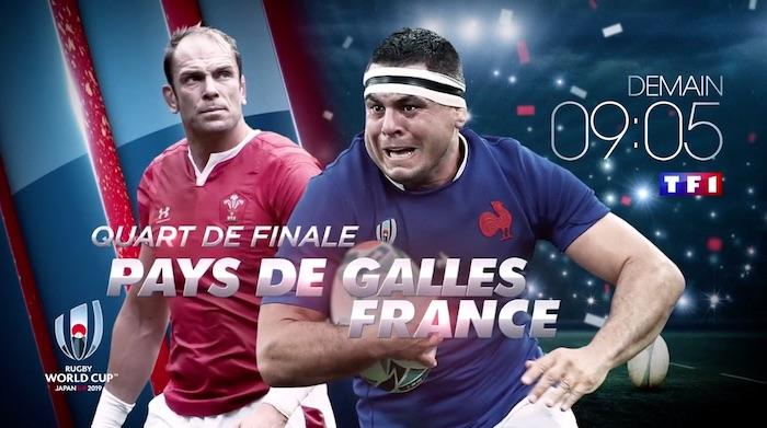 Coupe du monde de rugby : Pays de Galles / France