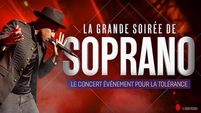 La grande soirée de Soprano