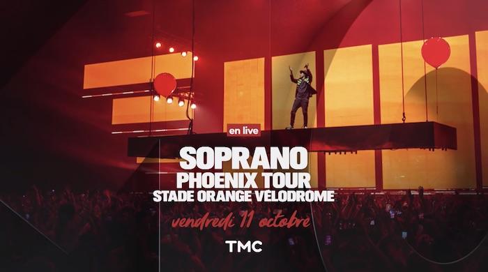 Ce soir à la télé, suivez le concert de Soprano en direct de Marseille