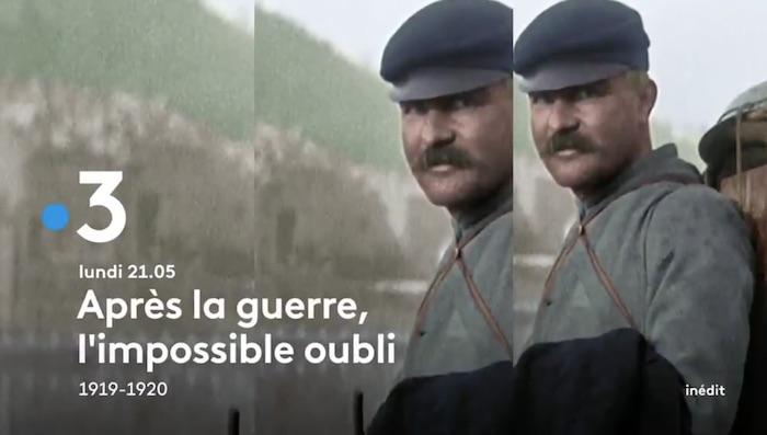 « Après la guerre, l'impossible oubli 1919-1920 »