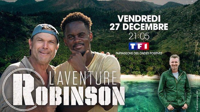 """Julien Lepers et Black M dans """"L'aventure Robinson"""""""