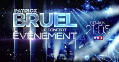 Le concert de Patrick Bruel en direct, live et streaming de Paris La Défense Arena, ce soir sur TF1